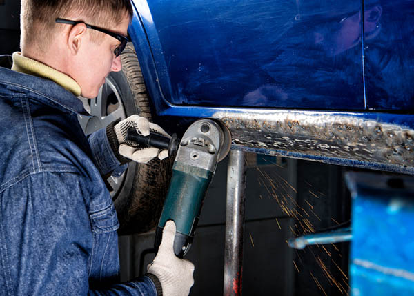 Fixing auto body damage in time can prevent worse issues down the line