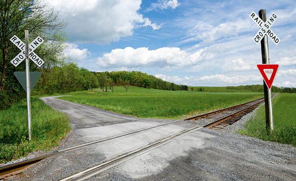 Even seldom used tracks should be approached with caution