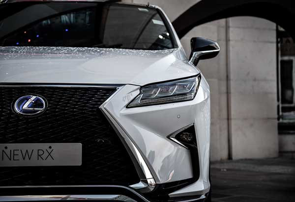 Lexus' grille design helps the brand stand out and get noticed