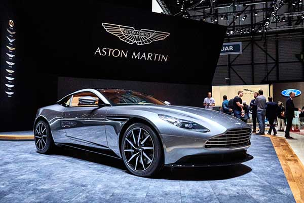 Aston Martin's DB11, including this 2016 model, has been more than a little popular