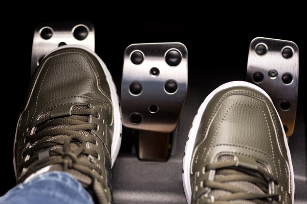 A clutch pedal that sticks to the floor is often a sign of trouble