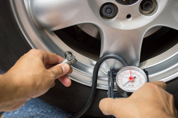 Heat increases tire pressure so make sure PSI is kept at recommended levels