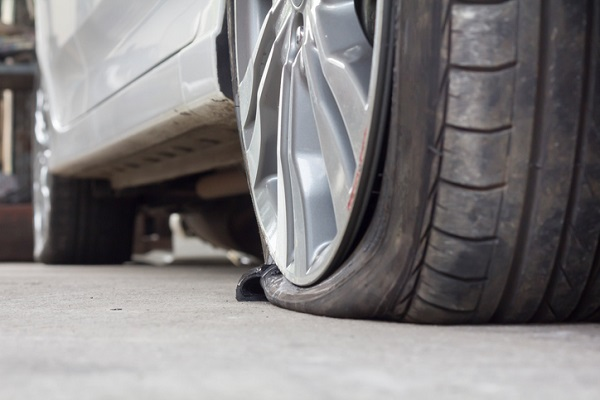 Remind clients that they should have a fully functioning spare tire in the vehicle at all times