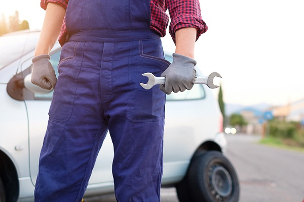 As a self-employed mechanic, you determine the location and hours of service