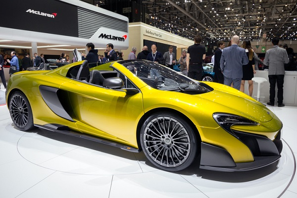 The 600LT looks just as good as its older sibling, the 675LT!