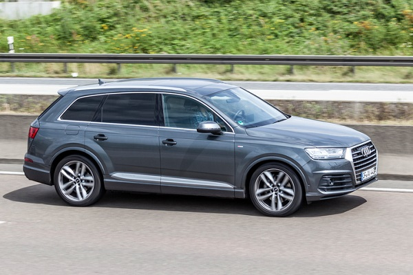 The Q8 is a sportier version of this Audi Q7
