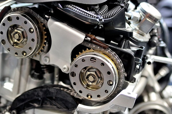 Timing chains are a popular alternative to timing belts