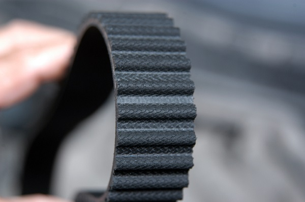 Timing belts are grooved to prevent slippage