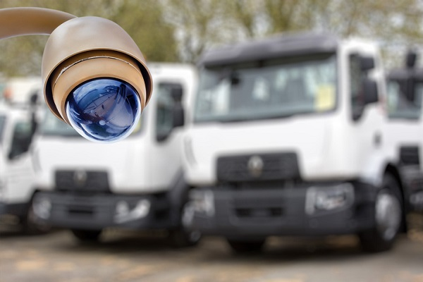 On-site surveillance can reduce cargo theft