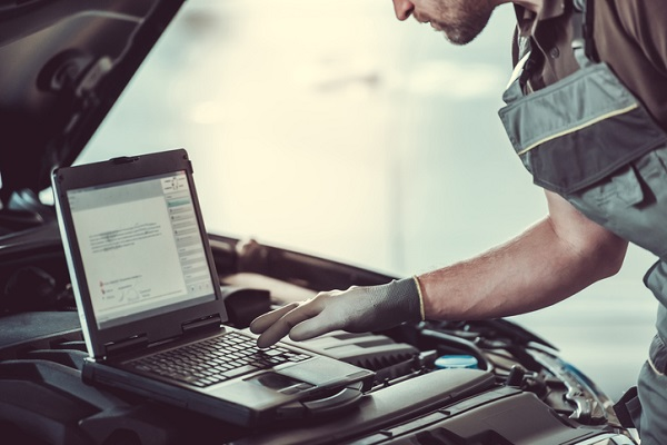 Automotive maintenance and repair is including more and more technological components