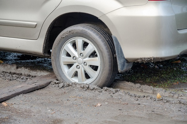 With two-wheel drive, having just some of your tires stuck in mud or snow can be a serious problem