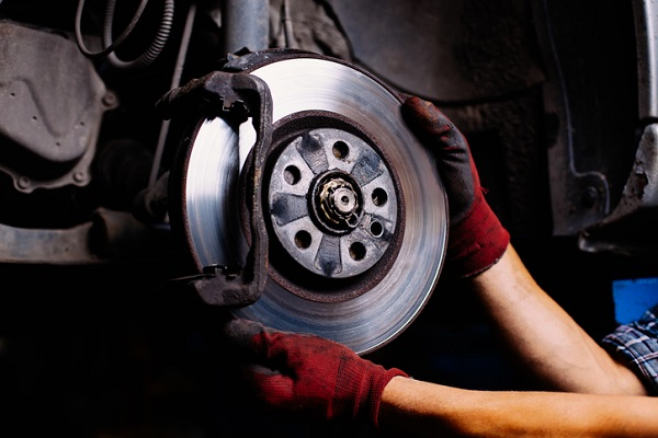 A grinding noise may actually be caused by worn out brake pads