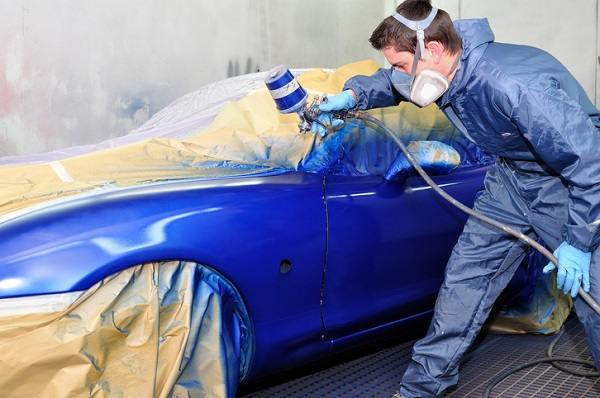 Automotive painting is perfect for those who enjoy detailed work
