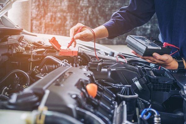 If you enjoy working with cars, you can make a career of it as an auto mechanic
