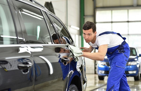 Auto detailers take special care during cleaning to get vehicles looking their best