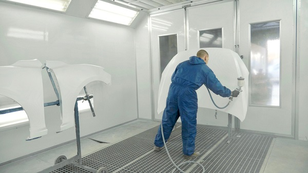Professional auto body repair workers may work with many different materials