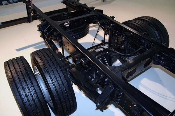 Ladder frames used in body-on-frame vehicles are heavier than unibody frames