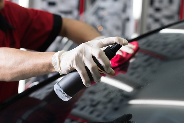 Students at ATC can use their training to properly care for and clean tinted windows