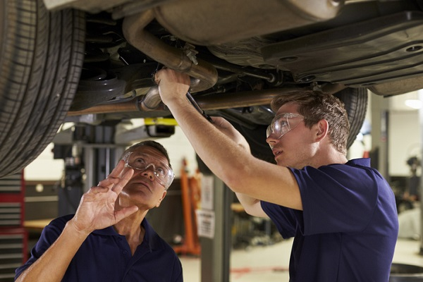 Students at ATC can use their training to find the source of a leak quickly and efficiently