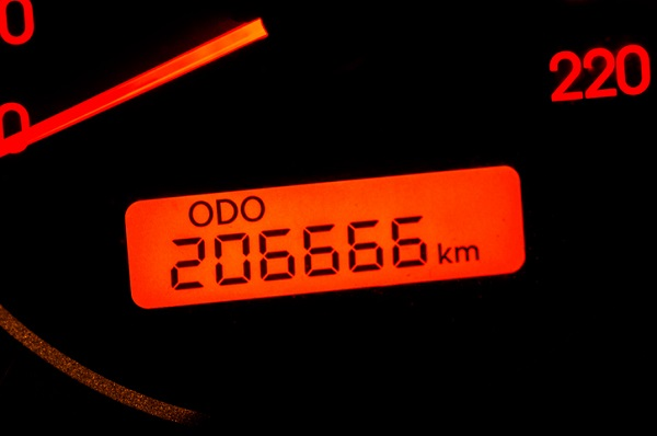 A vehicle may benefit from high-mileage engine oil once the odometer goes past 120,000km