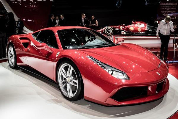 The biturbo V8 is the power behind Ferrari's bestselling 488 GTB sports car