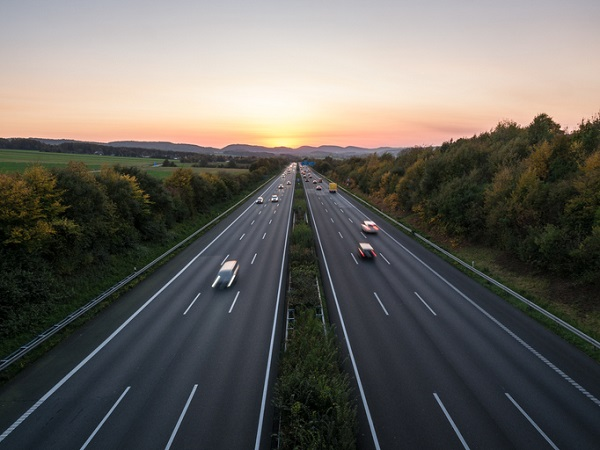 The Autobahn was designed in some places to act as an airstrip for incoming planes