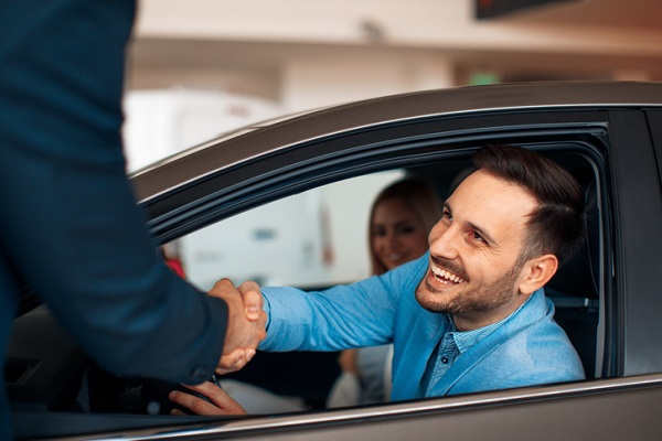 Customers who have the opportunity to sit in the car are closer to feeling ownership of it