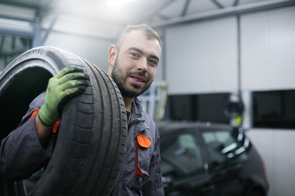 Sidewall in a tire varies the vehicle's ability to handle bumps in the road