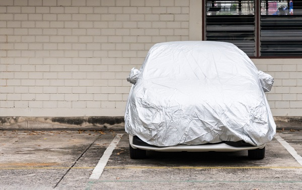 A concrete surface will help prevent moisture from rusting and damaging a vehicle