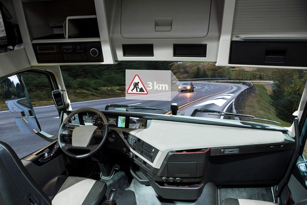 Self-driving trucks often have remote teleoperators to watch out for any dangers
