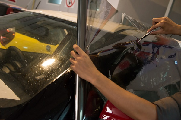 A paint protection film can be very useful for the front half of a vehicle