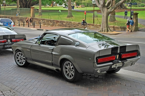 Gone in 60 Seconds' most memorable car was a 1967 Ford Shelby GT500