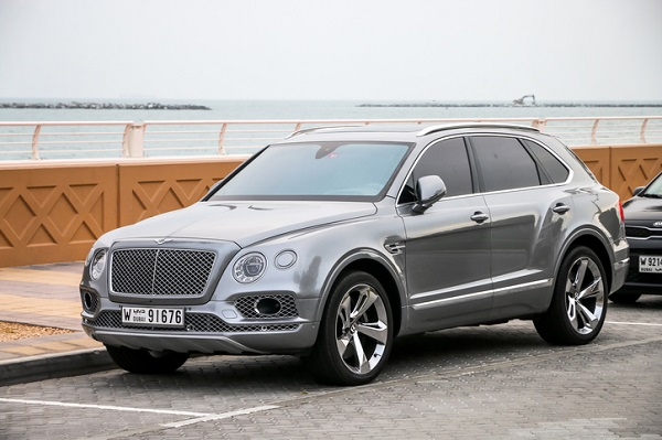 Other luxury automakers have been entering the SUV market, such as with this Bentley Bentayga