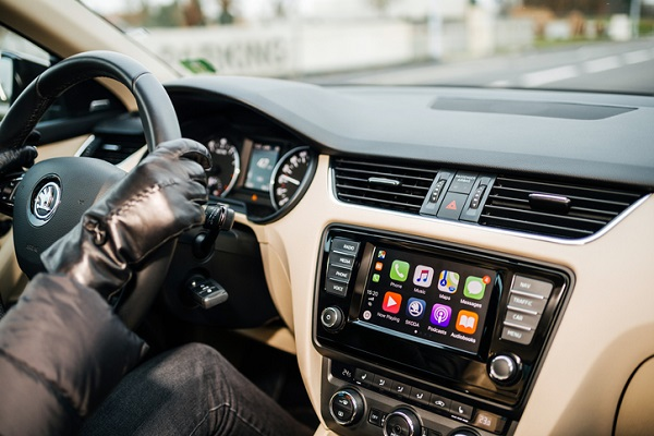 CarPlay's features can be accessed through Siri