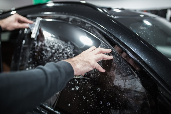Proper and professional application of tinting film will keep a car looking good