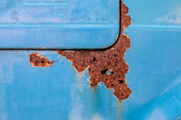 Rust can cause holes to form in the body, and eventually cause it to disintegrate