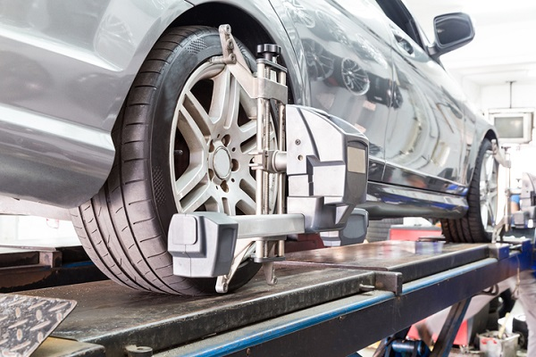 Wheel alignment is meant to correct issues with the camber, caster and toe of the vehicle