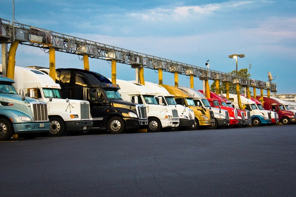 Truck stops would expand following the signing of the Federal Interstate Highway Act