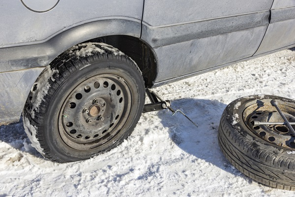 It's easier to check tire pressure than to have to change a tire in freezing weather