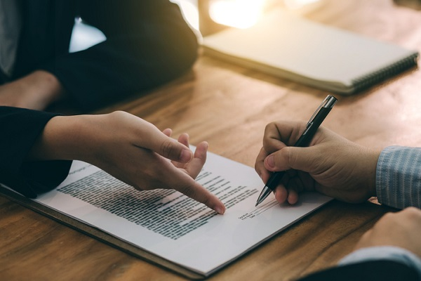 Make sure that any new clients sign a contract before you work together